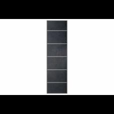 Fibo-Trespo, tegelpanelen 4760 M66 Black Stone (60x60cm)