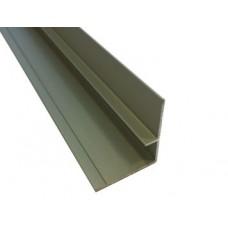 Profielen Fibo Trespo - FT Binnenhoek aluminium 300cm