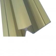 Profielen Fibo Trespo - FT Binnenhoek aluminium 135 graden 240cm